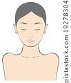 女性上身美學秀麗例證 19278304