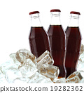 Cola drink with ice 19282362
