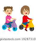 Girls With Tricycle 19287310