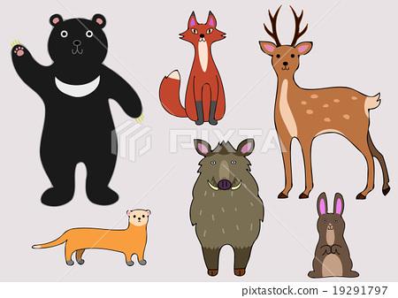 森林動物 19291797