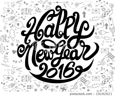 Happy New Year Doodle 50