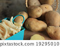 French fries with fresh potatoes 19295010