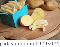 French fries with fresh potatoes 19295024