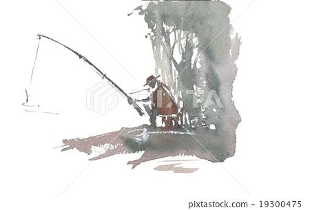 人們釣魚 19300475