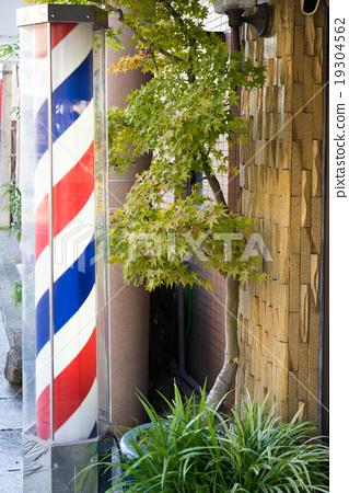 The symbol of the hair salon 19304562