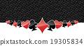 Stylized gambling background 19305834