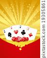 Gambling background 19305861