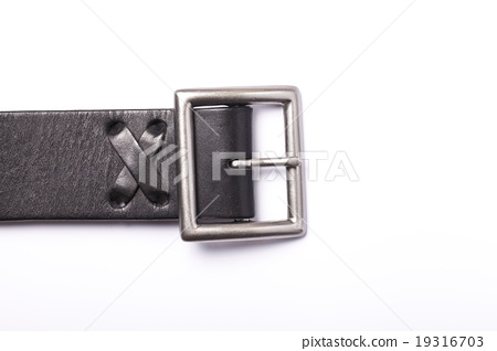 Belt with a fastener isolated 19316703