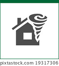 Property insurance icon 19317306