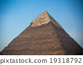 pyramids of the pharaohs in Giza 19318792