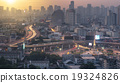 The first light of the day in Bangkok, Thailand 19324826