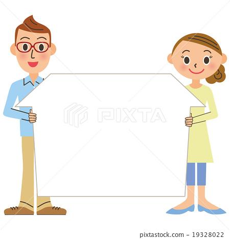 couple, husband and wife, newlywed 19328022