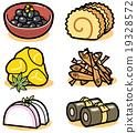 年夜饭 为新年存储的食物 新年 19328572