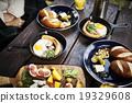 野營地 早餐 芝士 19329608