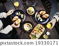 夫婦 早餐 異性夫婦 19330171