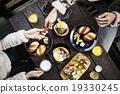 早餐 快樂的 人類 19330245