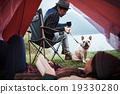 夫婦 帳篷 放鬆 19330280