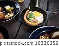 早餐 荷包蛋 平底鍋 19330359