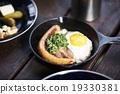 早餐 時尚 桌 19330381
