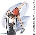 花式溜冰 人類 人物 19332361
