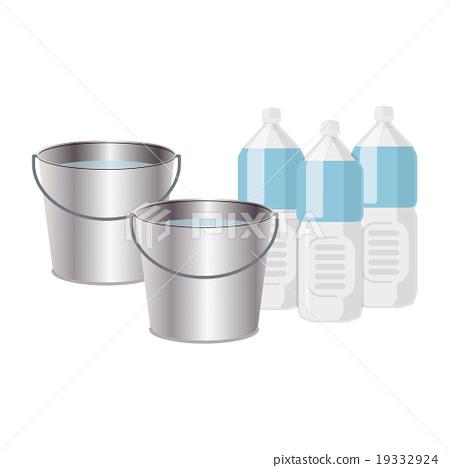Bucket and PET bottle 19332924