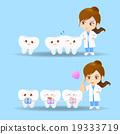 cartoon doctor dentist woman 19333719