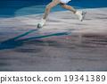 玩偶 塑像 溜冰 19341389