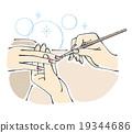 指甲 釘子 美甲 19344686
