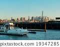 Manhattan downtown skyline 19347285