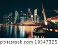 Singapore skyline 19347325
