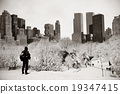 Central Park winter 19347415