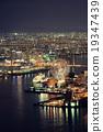 Osaka night rooftop view 19347439