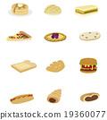 面包 白面包 猪肉炸肉排三明治 19360077