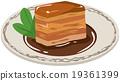 矢量 紅燒五花肉 角煮 19361399