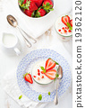 Strawberry tiramisu, trifle, custard dessert 19362120