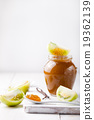 Green tomatoes jam with vanilla pods 19362139