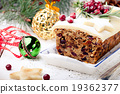 Traditional Christmas Fruit Cake pudding 19362377