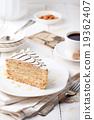Traditional Hungarian Esterhazy cake 19362407