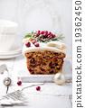 Traditional Christmas Fruit Cake pudding 19362450