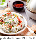 Traditional arabian eggplant dip baba ganoush 19362631