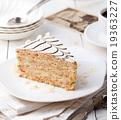 Traditional Hungarian Esterhazy cake 19363227