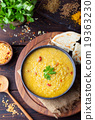 Red lentil Indian soup Masoor dal 19363230