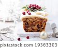 Traditional Christmas Fruit Cake pudding 19363303