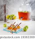 Apple punch, cider in beverage dispenser 19363369