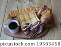 面包 白面包 丹麦面包 19363458