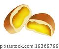 奶油面包 (做糕饼用)蛋奶冻 小甜面包 19369799