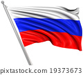 Flag of Russia 19373673