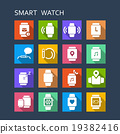 smart watch icon 19382416