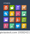 Fitness icon 19382421