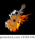 Vector Acoustic Guitar on Fire and Water 19385346